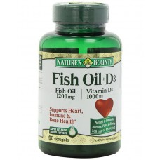 Fish Oil Plus Vitamin D3 Softgel