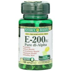 Vitamin E, 200IU - 100 Softgels